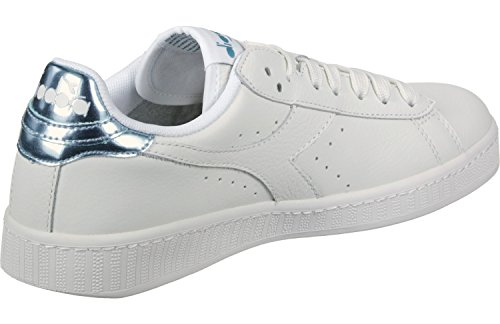 Diadora Game L Low Mirror, Sneaker Bas du Cou Mixte Adulte Beige