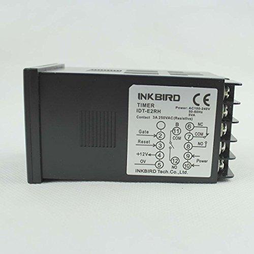 Zoom IMG-3 inkbird doppio rel digitale temporizzato