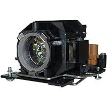 Lampara de Reemplazo con Carcasa AuraBeam Profesional para Proyector Hitachi CP-X1 (accionado por Philips)