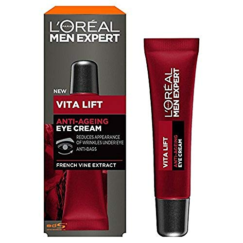 L'Oréal Men's Expert Vita Lift Anti-Ageing Eye Cream, 15 ml