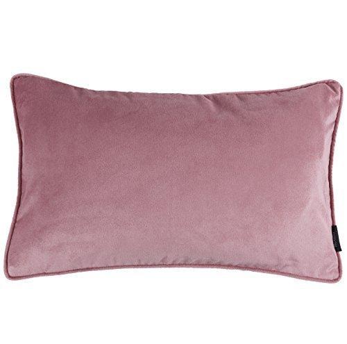 Preisvergleich Produktbild Small McAlister Textiles Luxury simple Matt Samt Kissenüberzug, 50cm x 30cm, Rose Rosa