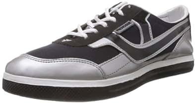 Provogue Men's Black Mesh Sneakers  - 6 UK