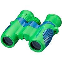 Bresser junior Kinderfernglas 6x21 für Kinder mit Mitteltriebfokussierung, Dioptrienausgleich und robustem gummiarmiertem Fernglaskorpus inklusive Gürteltasche und Trageschlaufe