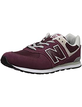 New Balance Pc574v1 Zapatillas Unisex Niños, Rojo (Burgundy), 33 EU (1 UK)