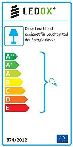 3er LED Einbaustrahler Set Bicolor (chrom / gebürstet) mit COB LED GU10 Markenstrahler von LEDANDO – 5W DIMMBAR – warmweiss – 40° Abstrahlwinkel – schwenkbar – 50W Ersatz – A+ – COB LED Spot 5 Watt – Einbauleuchte LED rund - 5