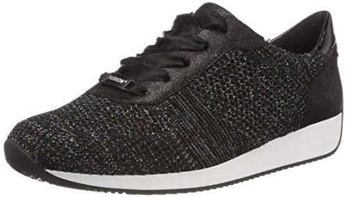 224027 Sneaker, Candy-Black, Schwarz 08, 41.5 EU ()