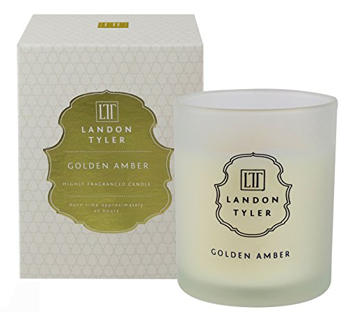 Landon Tyler bougie parfumée ambre dorée, 200 g