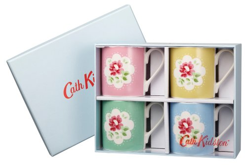 Cath Kidston Provance Placement Mugs In Gift Box, Fine China, Pack Of 4