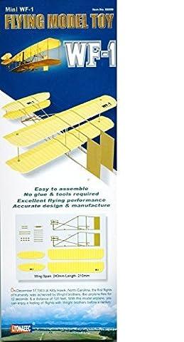 WF-1 Wright Brothers Mini volante Modèle Toy Avion Kit - Lyonaeec Planeur 88009 by Lyonaeec