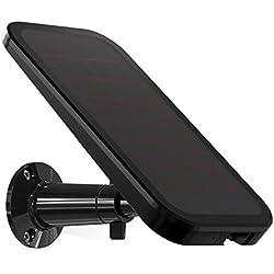Arlo VMA4600-10000S Accessoire Pro & Arlo Pro 2 - Panneau Solaire pour Caméra Arlo Pro et Arlo Pro 2 - Batteries Rechargées en Permanence sans Contraintes