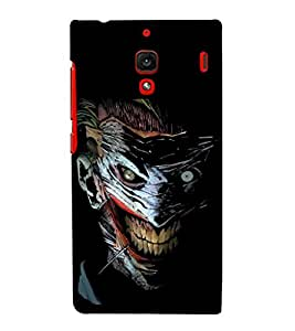 printtech Joker Gotham Art Scary Back Case Cover for Xiaomi Redmi 1S::Xiaomi Redmi (1st Gen)