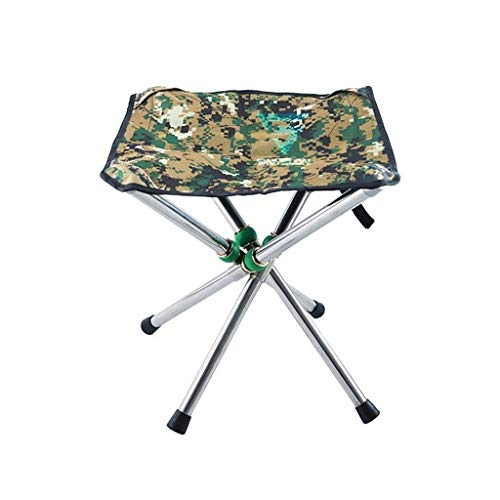 Decorative stool CSQ-Portable Kleine Klapphocker, Durable Light Outdoor Hocker Rucksack Gartenbank Reisehocker Travel Hocker Falten Angeln Hocker Faltbar (Size : 28.5 * 30CM)