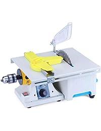 Vogvigo Máquina de Pulido de Joyas Actualizada, Kit de Sierras para Joyas de Mesa Mini, Amortiguador de Banco Pulidor de Roca para Trabajar la Madera de Gemas con Accesorios Completos