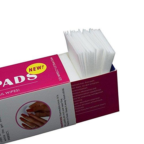 lint-free-nail-wipes-cotton-pads-prep-clean-nail-art-polish-quick-remover-325pcs-soft-absorbent-poli