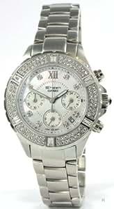 Casio Damen-Armbanduhr XS Chronograph Quarz Edelstahl SHN-5503D-7AEF