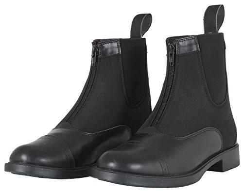 Stivali da cavallerizza, King Rosa lavanda nero * * Tutte Le Misure * * Black