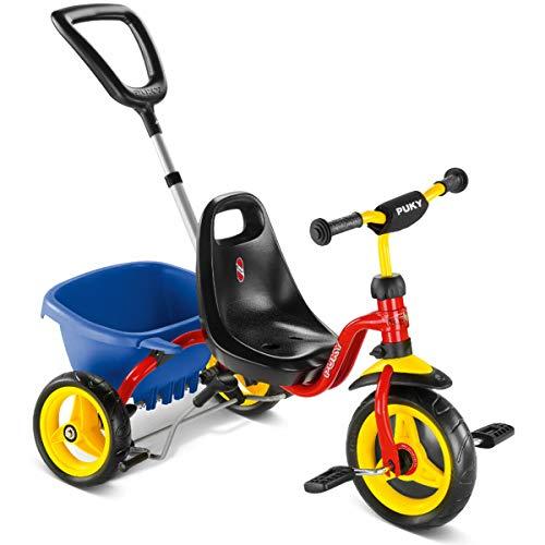 Puky CAT 1 S Kinder Dreirad rot/gelb