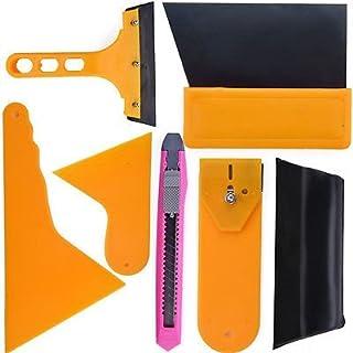 Ardisle Auto Fenster Tint Werkzeuge Kit für Film Tönung Schaber Anwendung Installation - 7 Stück Fenster Farbton Werkzeug Kit