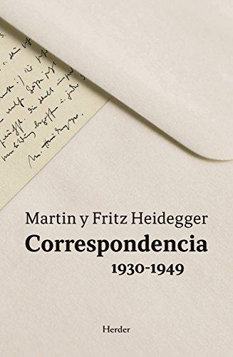Correspondencia 1930-1949 por Martin Heidegger