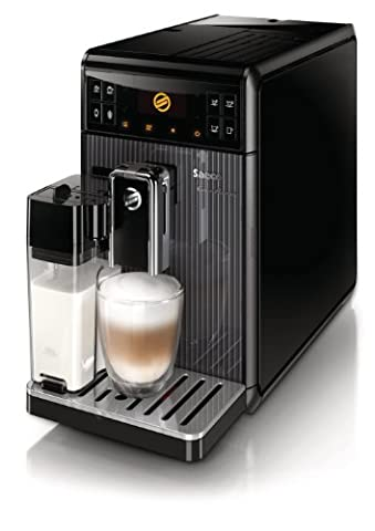 Saeco HD8964/01 GranBaristo Kaffeevollautomat (variabler Brühdruck, Milchbehälter) schwarz