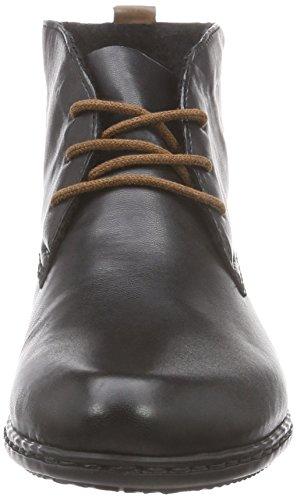 Rieker M0732 Stivali da Donna Nero (Mogano/01)