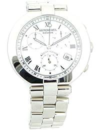Montre Raymond Weil Homme 2481736au quartz (Batterie) acier Quandrante Blanc Bracelet acier