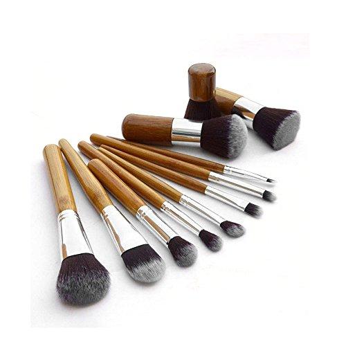 Forepin® Professionista 11 pcs Makeup Brush / cosmetico della spazzola Cosmetic Brush ombretto Foundation Concealer Brush set perfetto per liquidi, polveri e creme