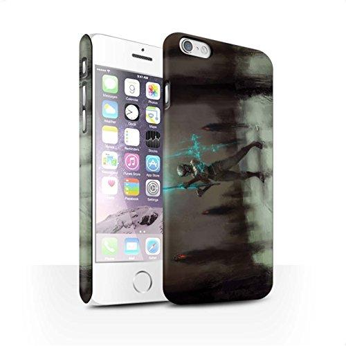 Offiziell Chris Cold Hülle / Matte Snap-On Case für Apple iPhone 6 / Pack 5pcs Muster / Unterwelt Kollektion Schatten Ritter