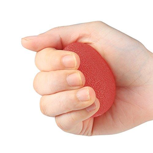 Andux Zone 3 Stück Eiförmige Griffbälle - ideal als Handtrainer oder Fingertrainer WLQ-03