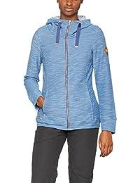 Regatta - Chaqueta con capucha y cremallera modelo closinda para mujer (40/azul)