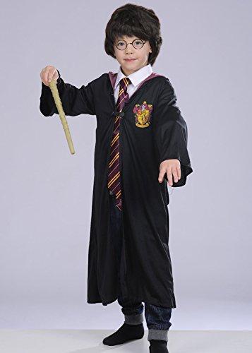 Kinder Harry Potter Style Kostüm mit Perücke Large 8-10 years (Harry Potter Paar Kostüme)