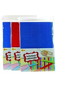 Toi-Toys-TOI CREA A4cartón, Acanalado, Figura, 47600a, Multicolor