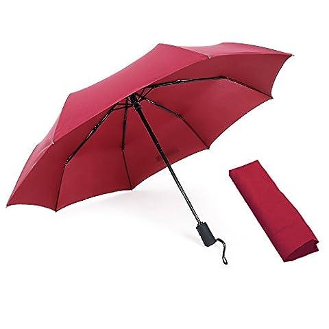 WITERY, Cendrier de poche , rouge vin (lie de vin) - CA1203