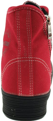 Maxstar  C30-7H, Chaussons montants femme Rouge - Solid-Red