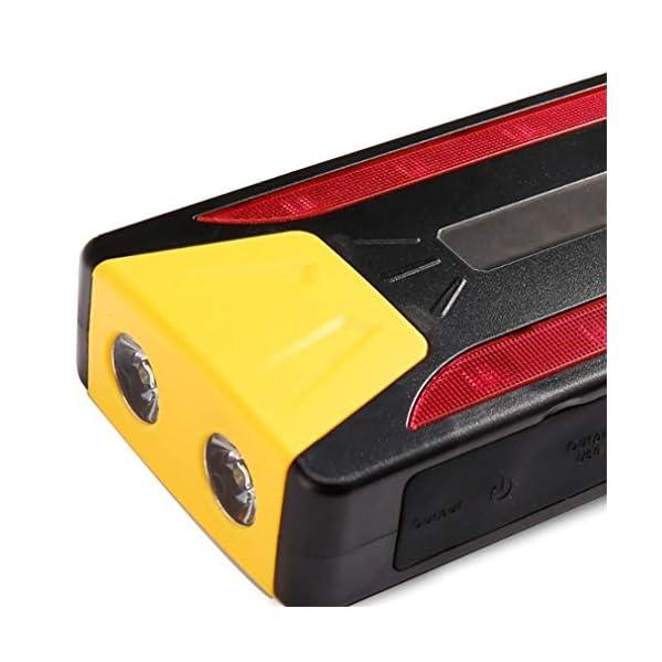 LALAWO 600A batería de Coche portátil del arrancador del Coche del Pico 20000Mah con Poder Resistente del Comienzo del…