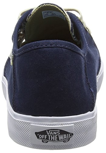Vans Tazie Sf - Scarpe da Ginnastica Basse Donna Blu (multi Stripe/dress Blues)