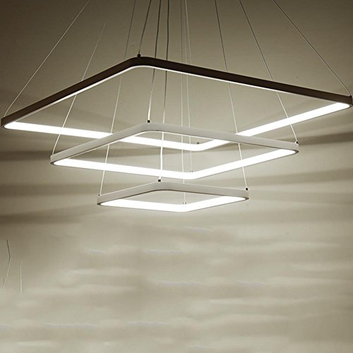 Modern Kronleuchter Lüster Hängelampe Pendelleuchten LED moderne einfache Wohnzimmer Esszimmer Schlafzimmer Lampe30*50*70cm (dimmerable mit 120W)