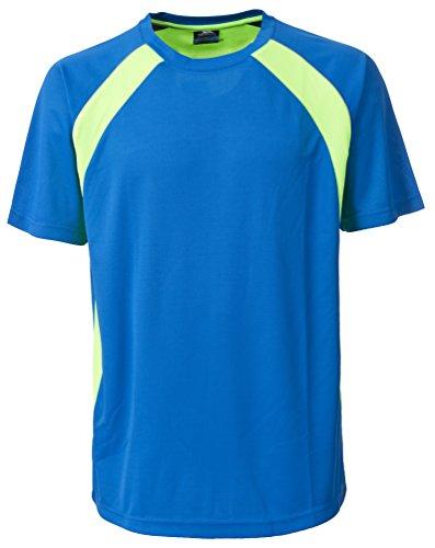 Trespass–T-shirt da uomo Devan Bright Blue