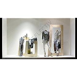 Film adhésif anti-UV, très efficace, UVA 151, vitrine de magasin, musées, vitre fenêtre de maison, protection contre les UV, plusieurs tailles disponibles, application facile (Largeur 75 cm x longueur 2 m)