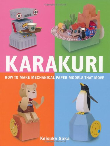 Karakuri: How to Make Mechanical Paper Models That Move por Keisuke Saka