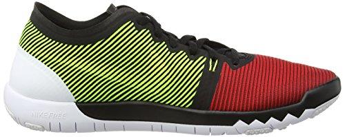 Nikefree Trainer 3.0 V4 - Scarpe Remise En Forme Uomo Noir / Université Rouge / Volt