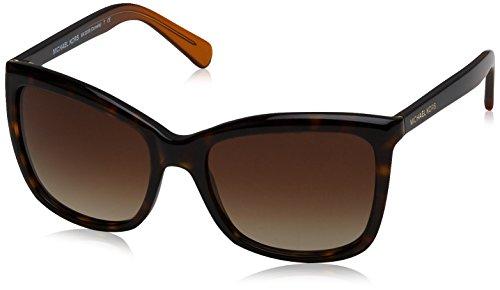 Michael Kors Damen CORNELIA 321713 54 Sonnenbrille, Dk Tortoise/Smokegradient,