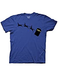 Doctor Who Tardis & Reindeer Graphic T-Shirt