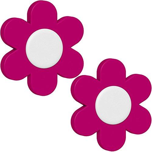 Emsa Blümchen Deko-Clip'Landhaus' 2 Stück, rosa, 28x28x18 cm, 513470