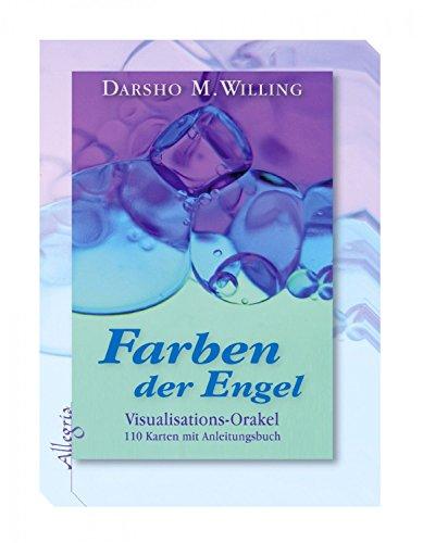 Kartenset Farben der Engel von Darsho M. Willing, Visualisations Orakel zur Visualisierung und Krisenbewältigung, 110 Karten Orakelkarten mit...