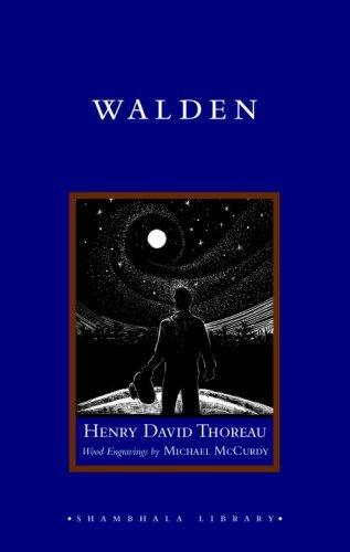 Walden (Shambhala Library) by Henry David Thoreau (2008-11-21)
