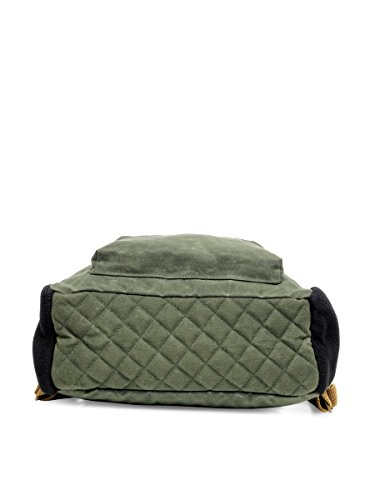 Best canvas backpack in India 2020 The House Of Tara Rugged Unisex Laptop Backpack (Moss Inexperienced) HTBP 164 Image 6