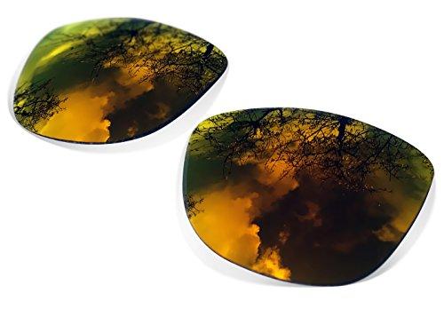 sunglasses restorer Kompatibel Ersatzgläser für Oakley Frogskins, Polarisierte Fire Iridium Linsen