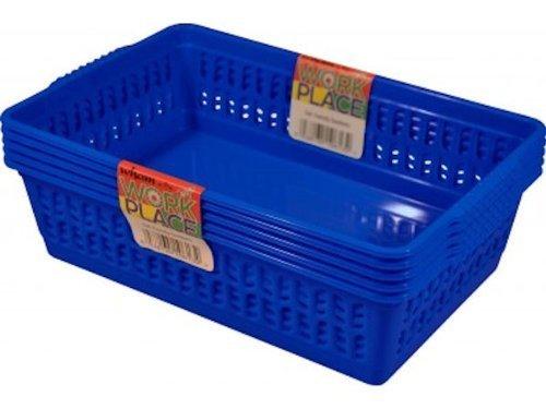 dee-blue-set-of-5-small-plastic-handy-fruit-vegetable-basket-kitchen-office-storage