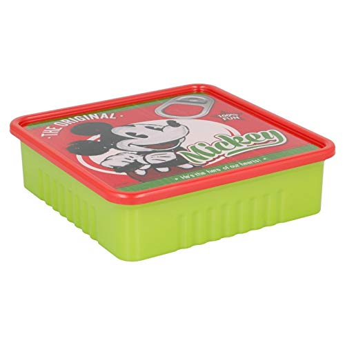Stor Daily Use Boîte carrée Motif Mickey Mouse